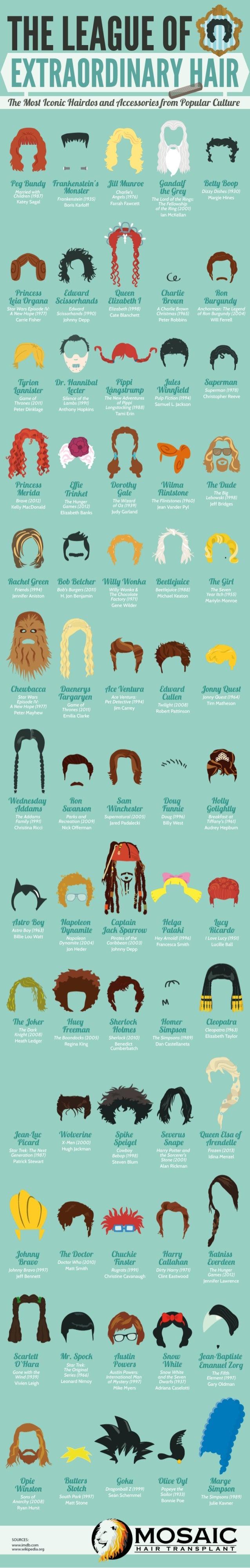 The League of Extraordinary Hair