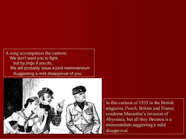Manchuria cartoon interpretation