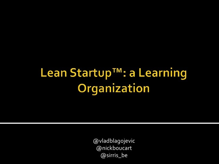 Lean startups-mini-xp-days