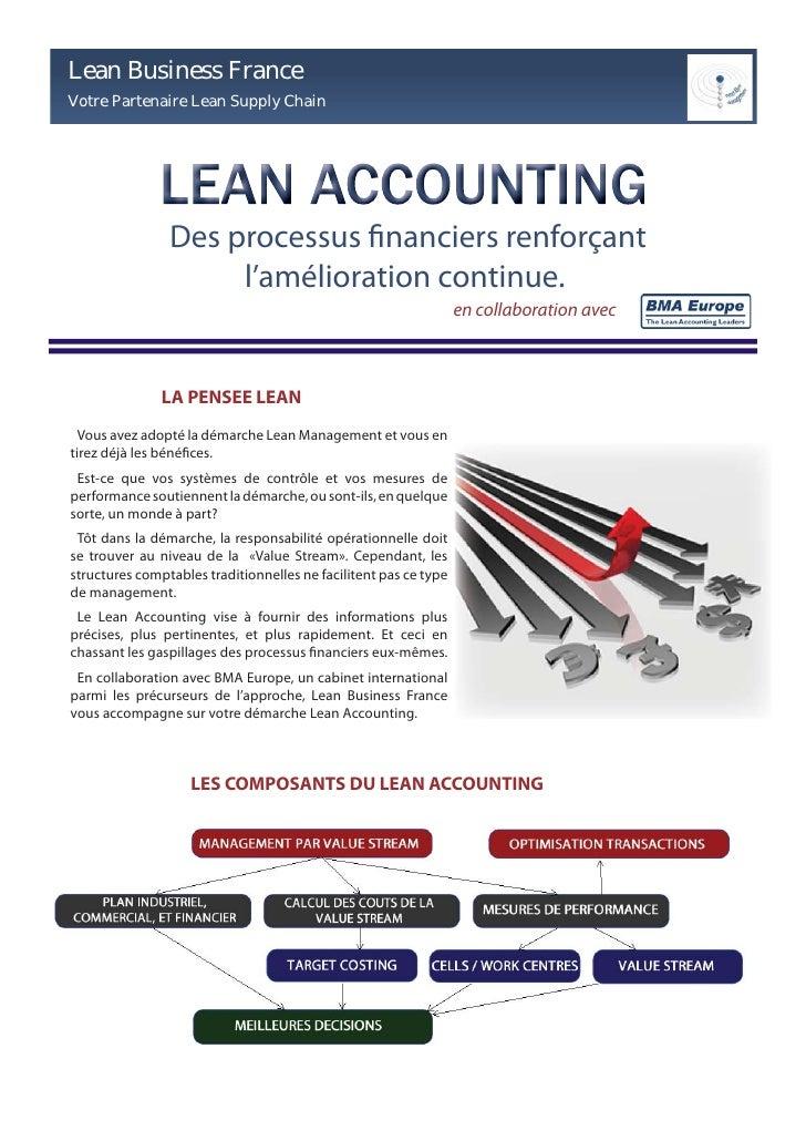 Lean Business France Votre Partenaire Lean Supply Chain                     Des processus financiers renforçant           ...