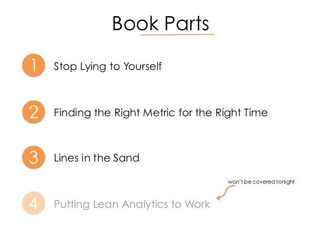 Lean Analytics Summary Putting Lean Analytics to