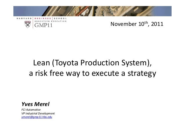 Group 4 Week 1 Learning Points                                November 10th, 2011      Lean (Toyota Production System),   ...