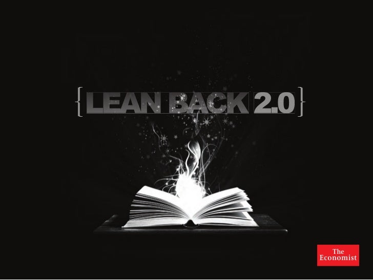 Lean back media: the shock of the old