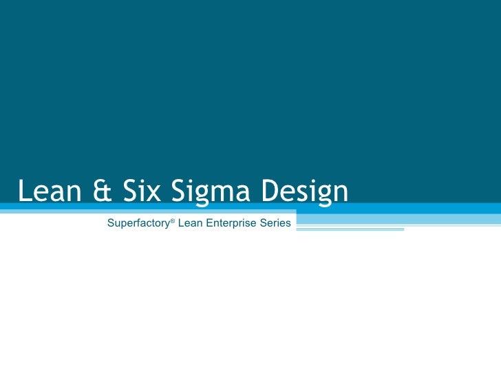 Lean Design Sample