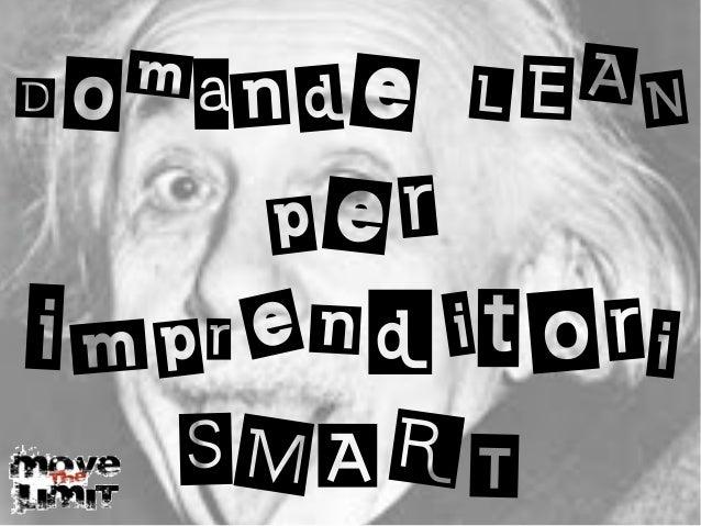 Domande LEAN per imprenditori SMART