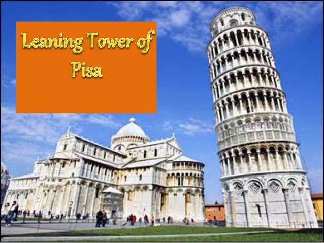 What is it? • It is a free standing bell tower of the cathedral in the Italian City of Pisa, Piazza dei miracoli • It is a...