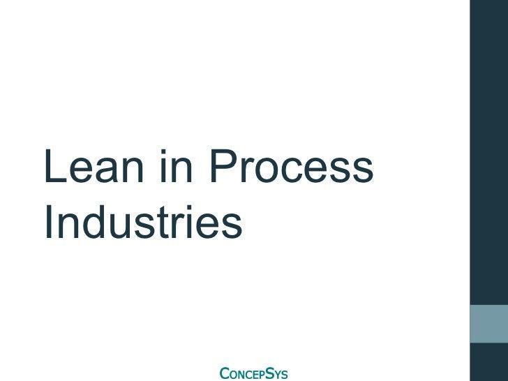 Lean in process_industries dbc