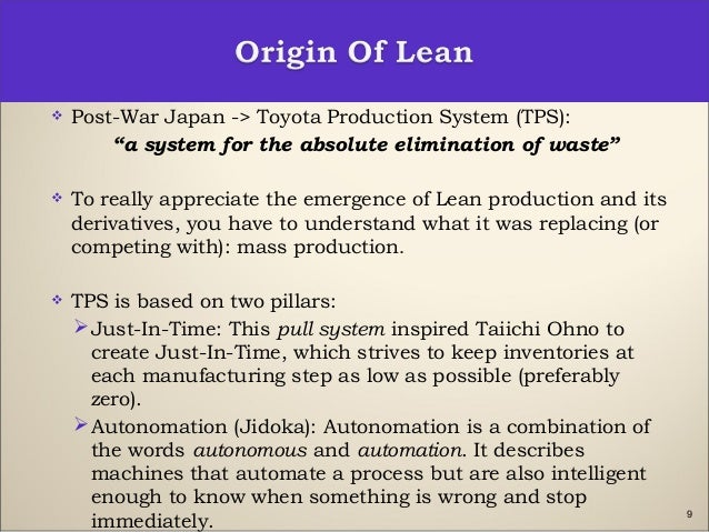 lean dissertations Lean production is about expanding capacity by reducing costs and shortening cycle times between order and ship date.