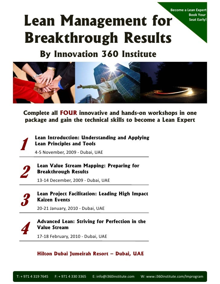 BecomeaLeanExpert       Lean Management for                                                                            ...
