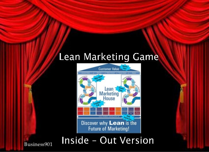 Lean Marketing Game from the Inside-Out