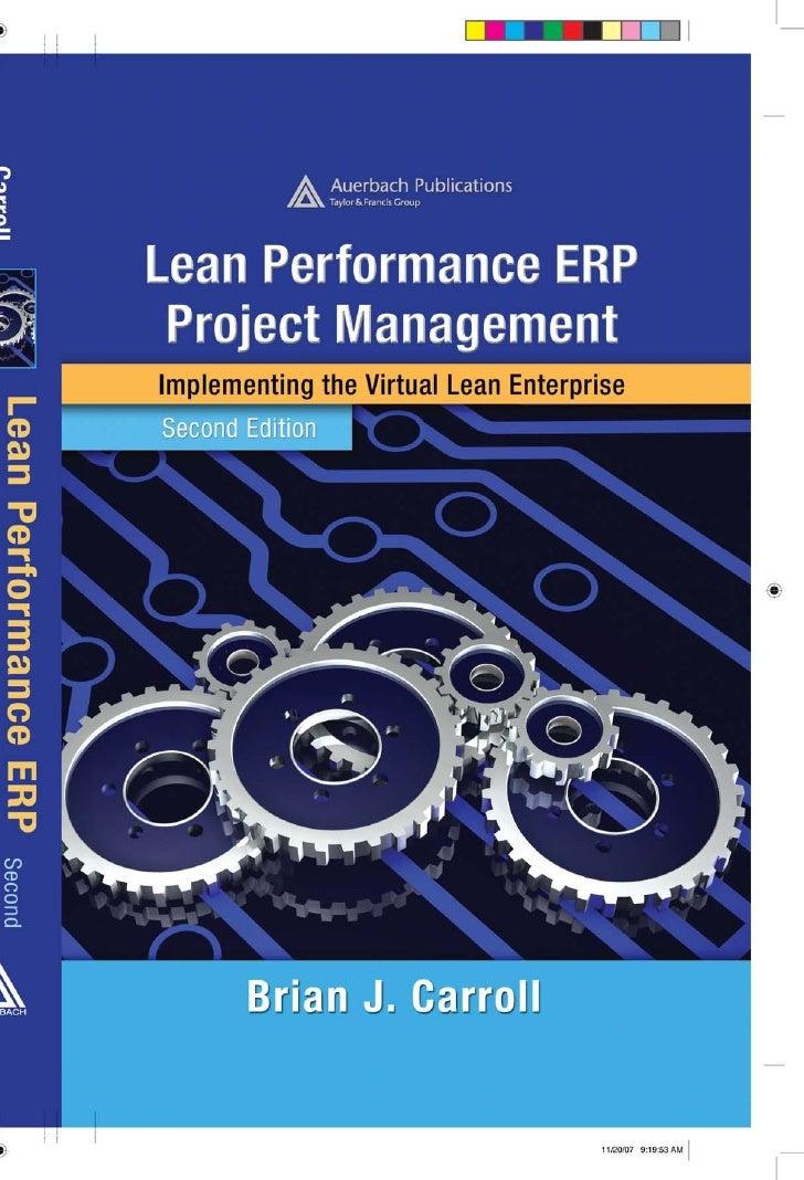 Lean Performance Erp Project Management