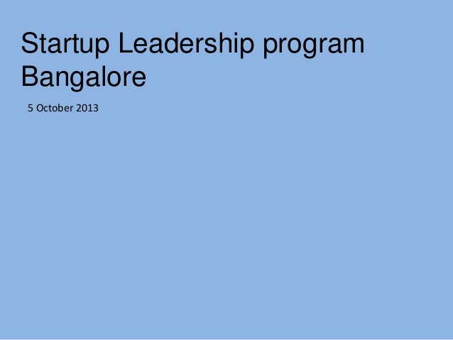 What is a Lean startup