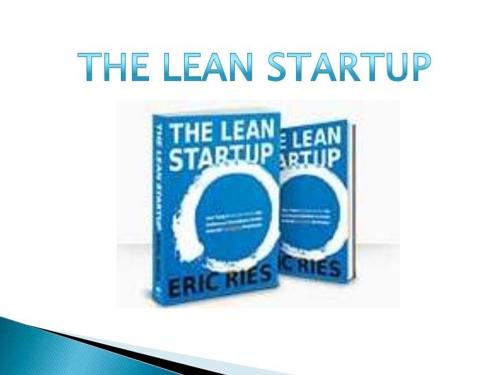 Lean startup presentation