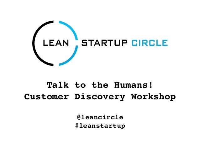 Lean Startup Helsinki, Finland, Customer Discovery Workshop 2012-10-08