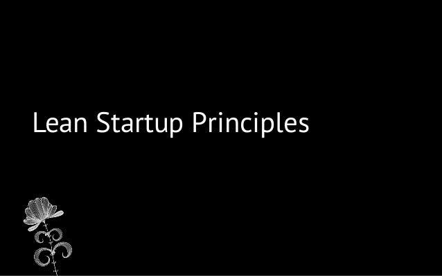 Lean Startup Principles