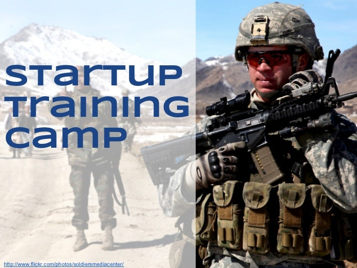 Lean startup training camp