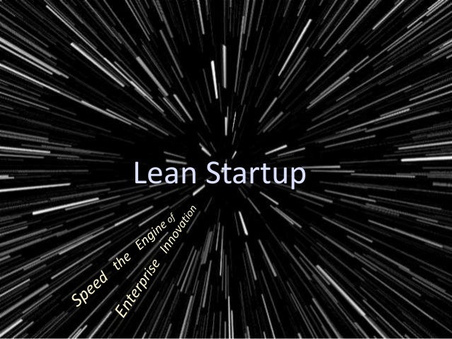 Lean Startup (for the Enterprise) Workshop