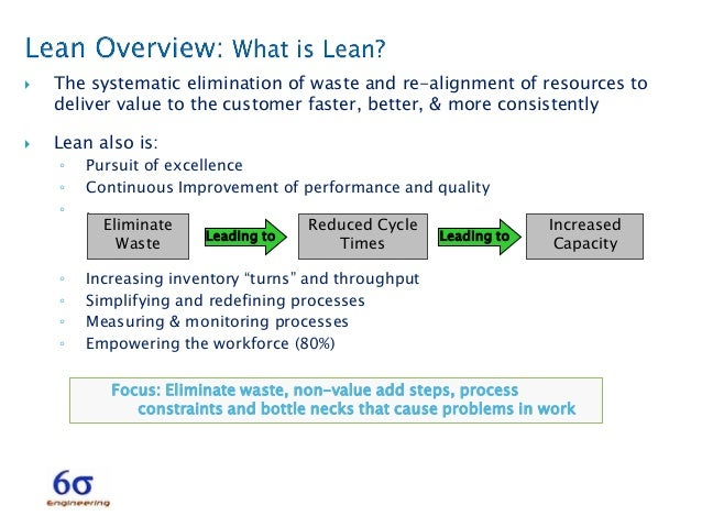 lean reduce cycle time
