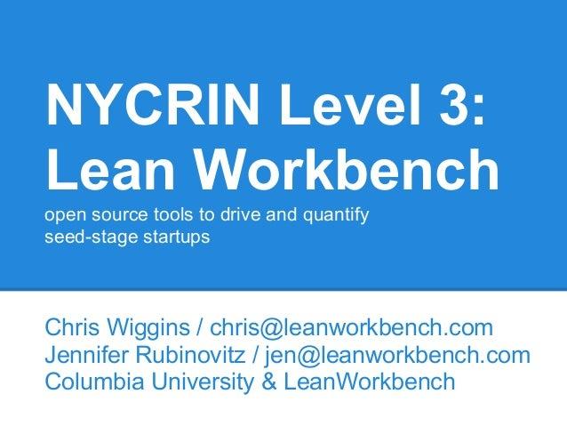 Lean workbench 2013-07-24