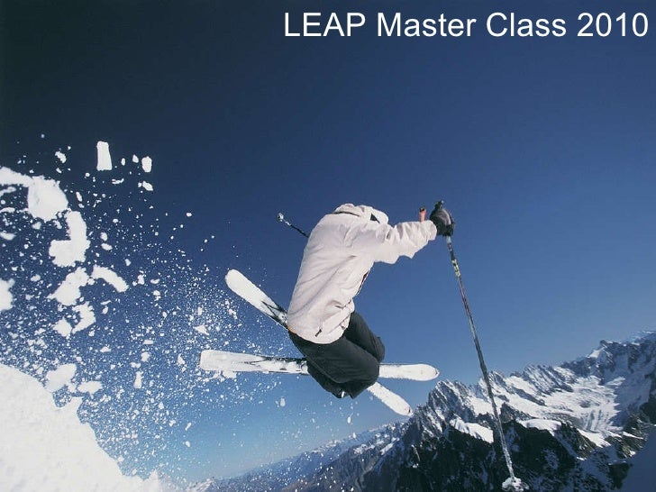 LEAP Master Class 2010