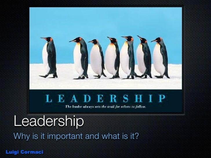 Leardership