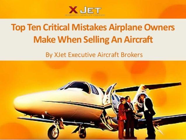 Learjet professional broker