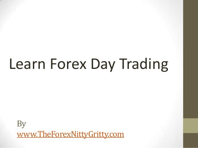End of day trading forex