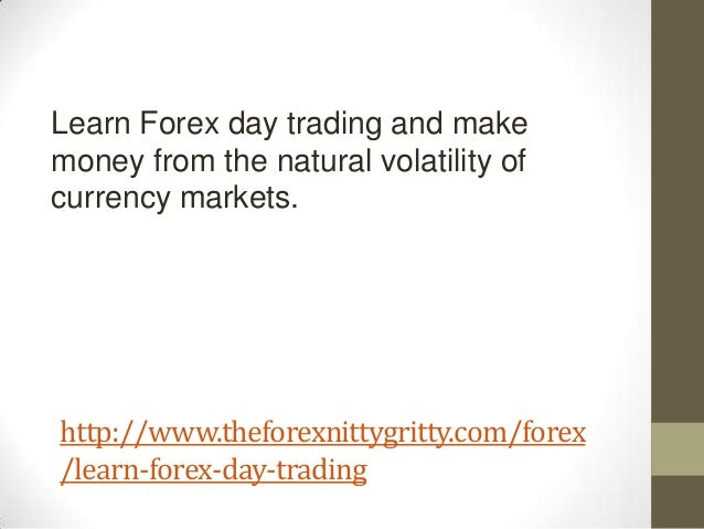 Forex trader make money