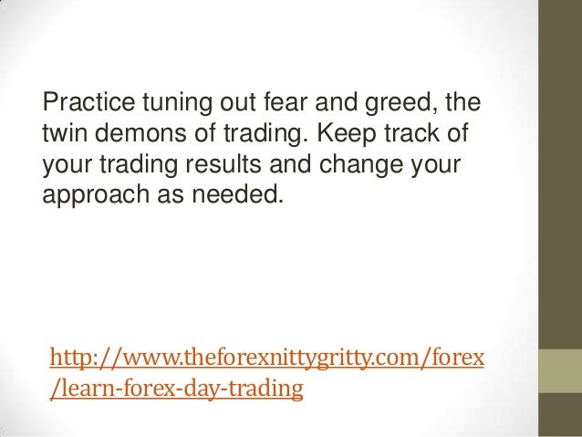 Learn forex day trading