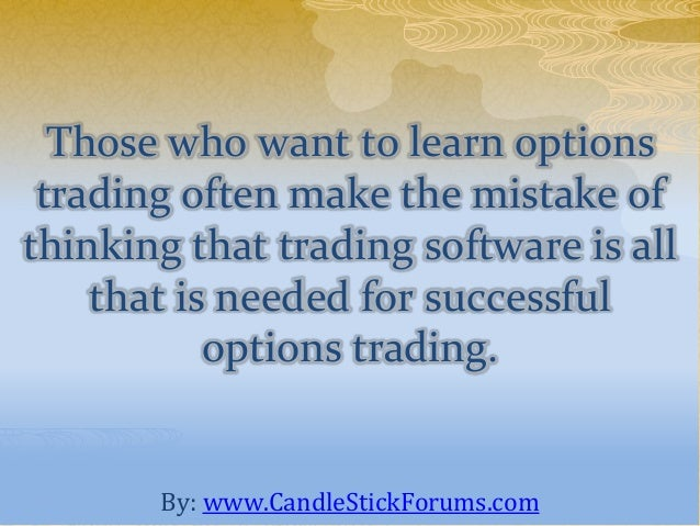 Learn to options trade