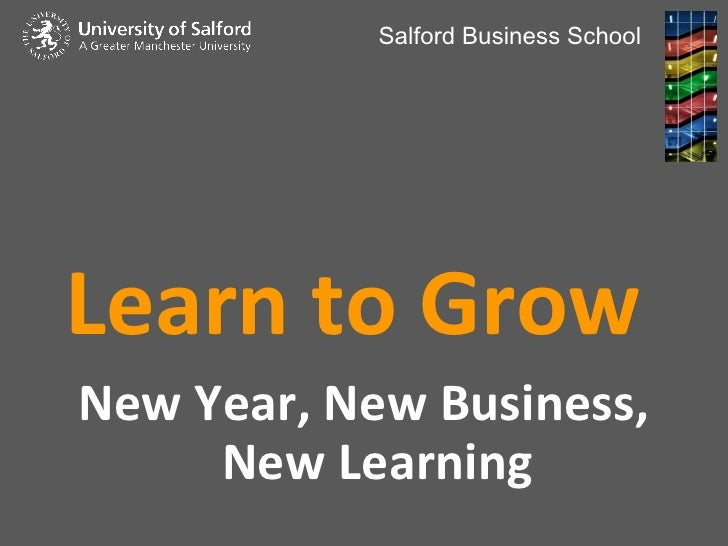 Learn to Grow - Stuart Wells presentation