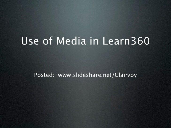 Learn360 aug 2012