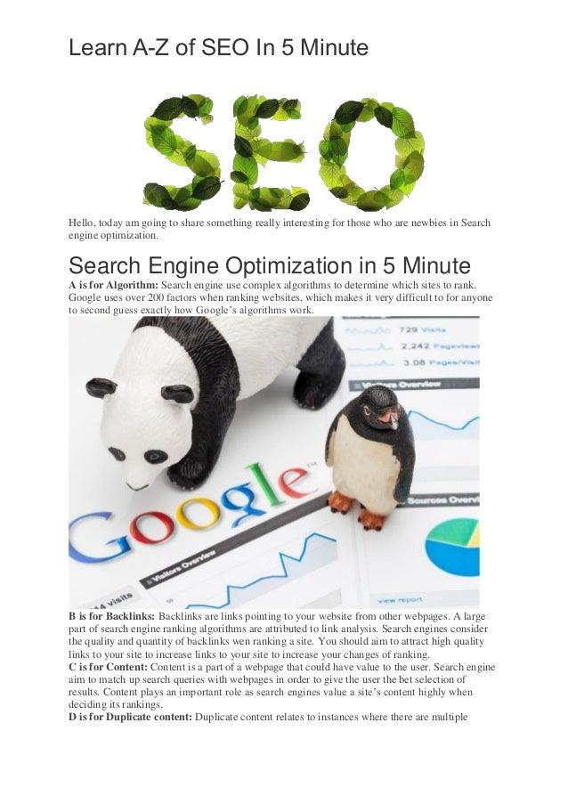 Learn Search Engine Optimization - SEO ... - facebook.com