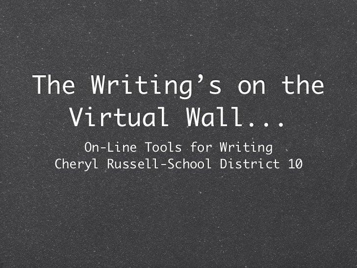 Learn east 2012 writing