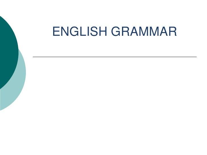 تعلم . قواعد الغة الانجليزية Learn english grammar