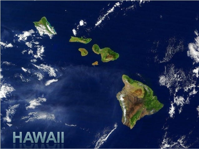 The Hawaiian Islands are located in the PacificOcean, almost 4000 km from the U.S. west coast,.