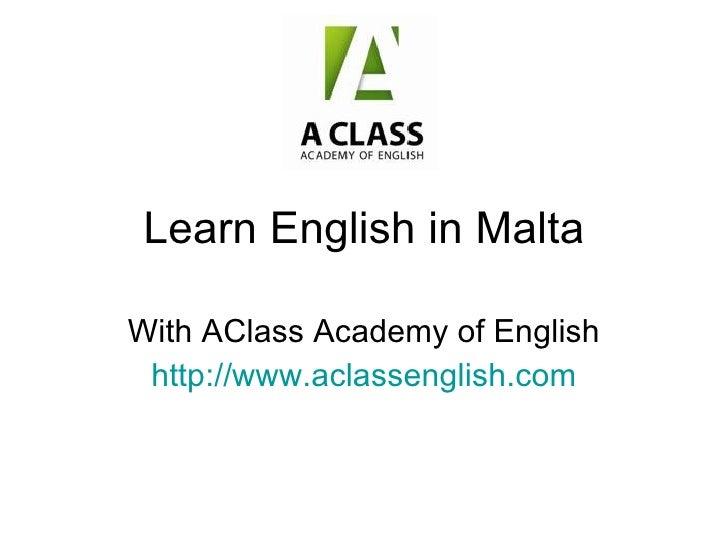 Learn English In Malta Sprachreisen Malta Escuela de Ingles
