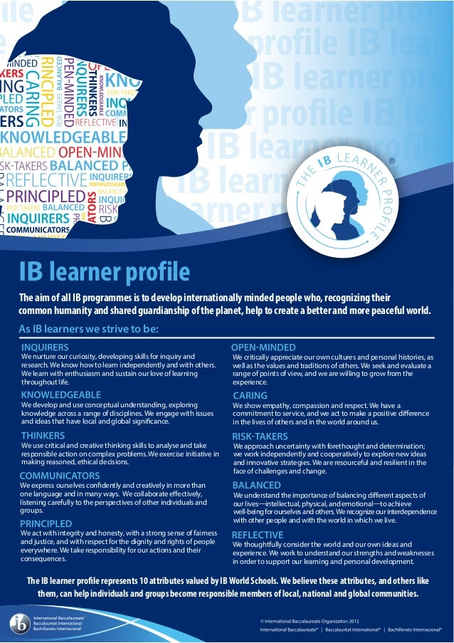 Learner Profile in English