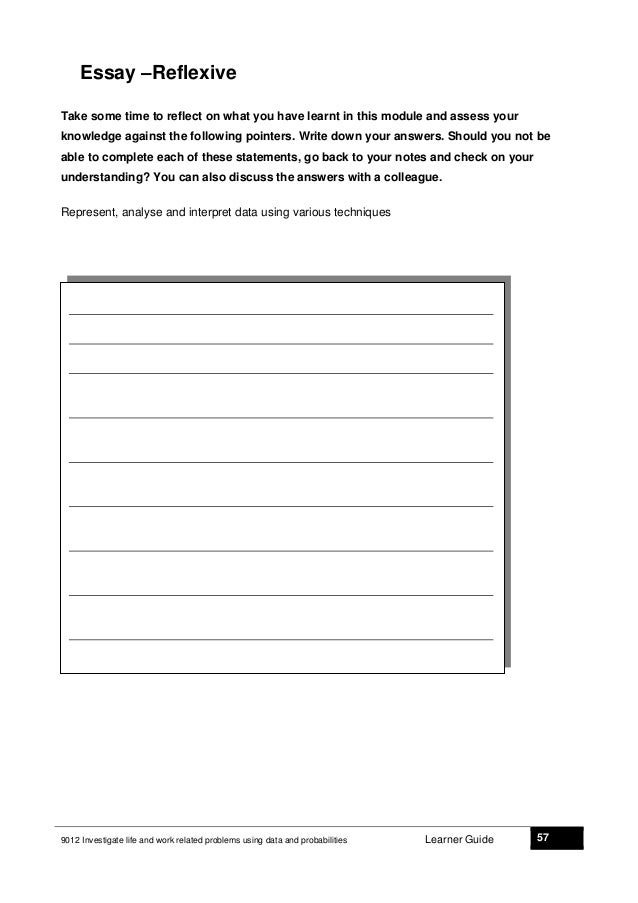 Problem in workplace essay
