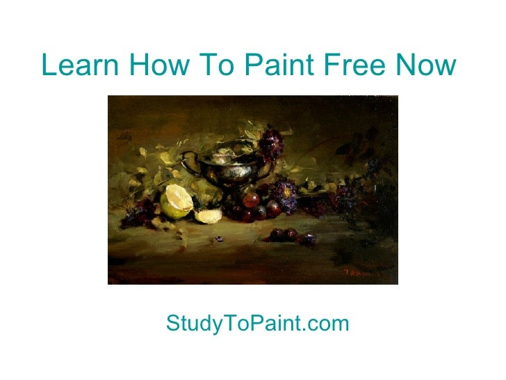 How to paint a abstract painting part 4 for Learn to paint online