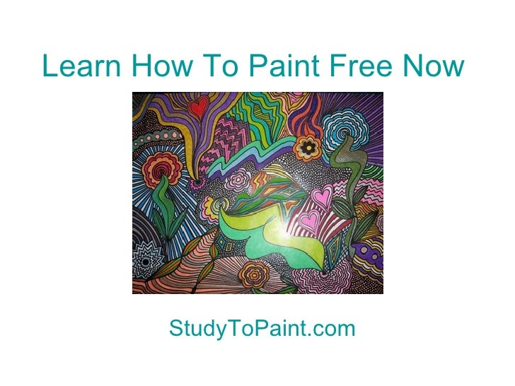 Learn to paint a person part 2 for Learn to paint online