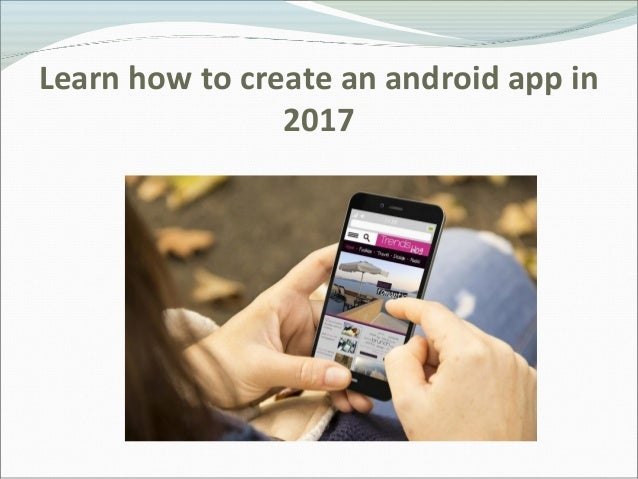 how to create android app in eclipse