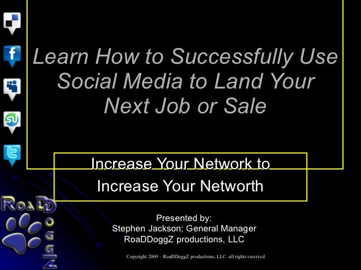 Learn How To Successfully Use Social Media To