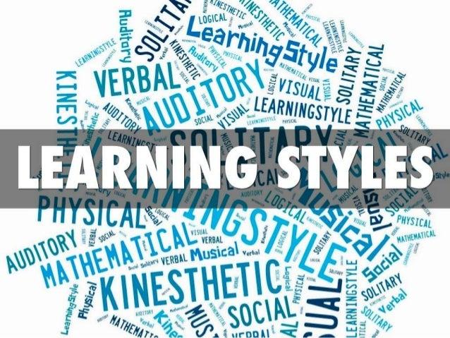 Learning Styles Slideshare