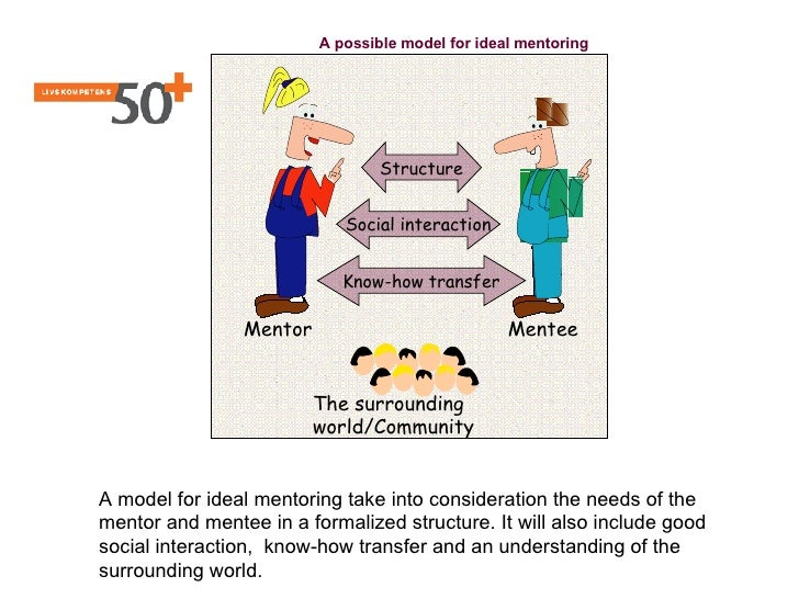 A possible model for ideal mentoring                                      Structure                               Social i...