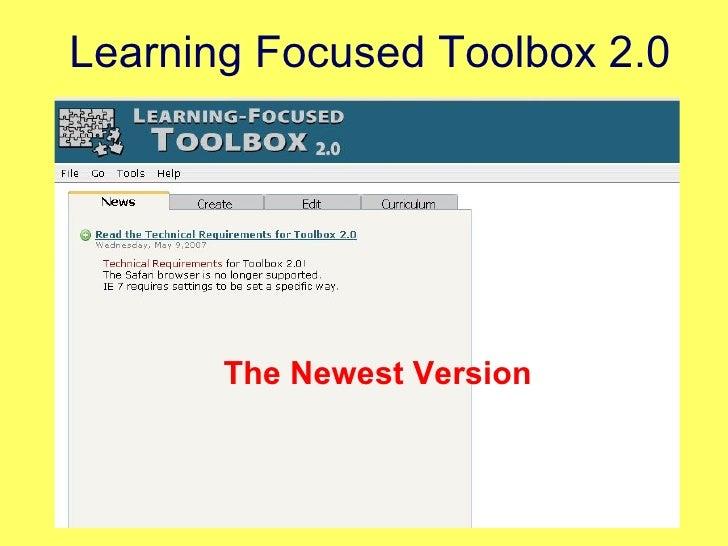 Learning Focused Toolbox 2.0