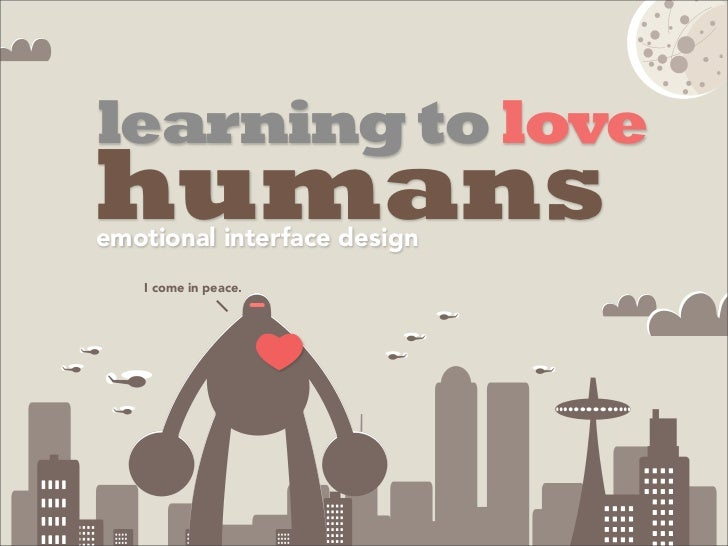 Learning to-love-humans