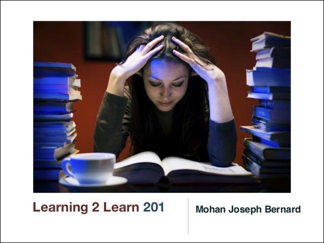 Learning 2 Learn