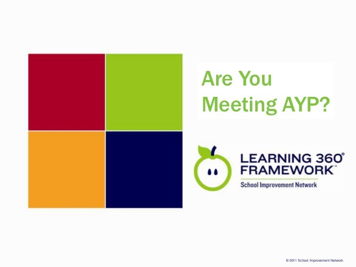 Are You Meeting AYP?<br />