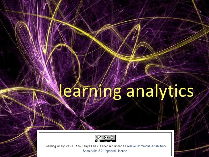 Learning Analytics Oer